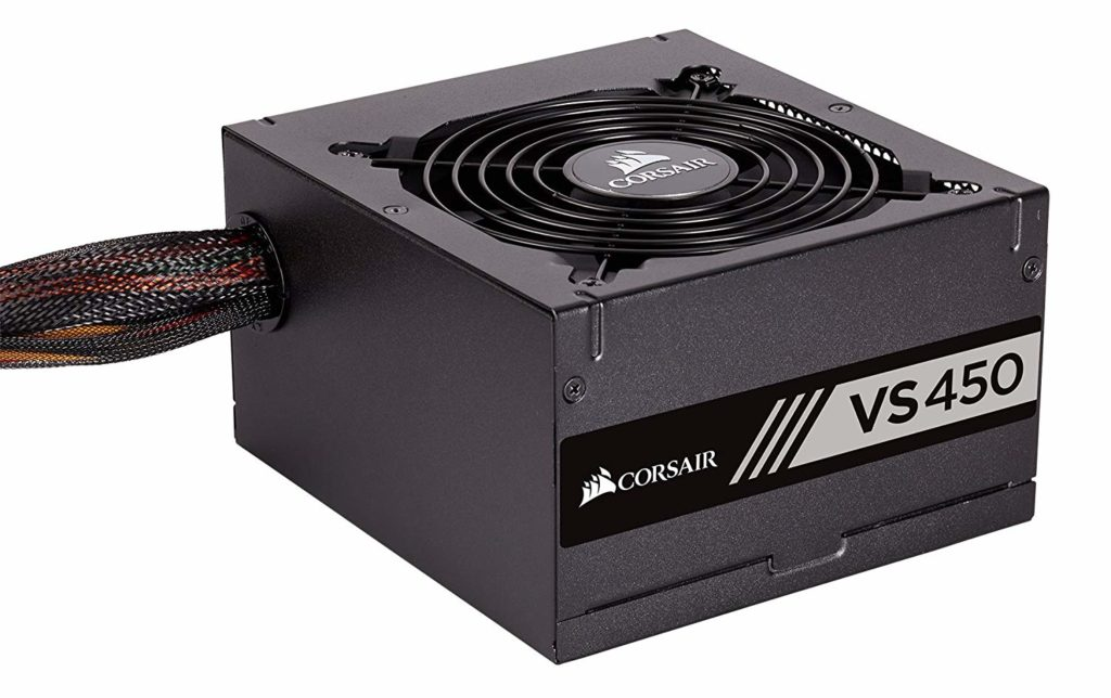 corsair vs450 450w for gaming build under 30000