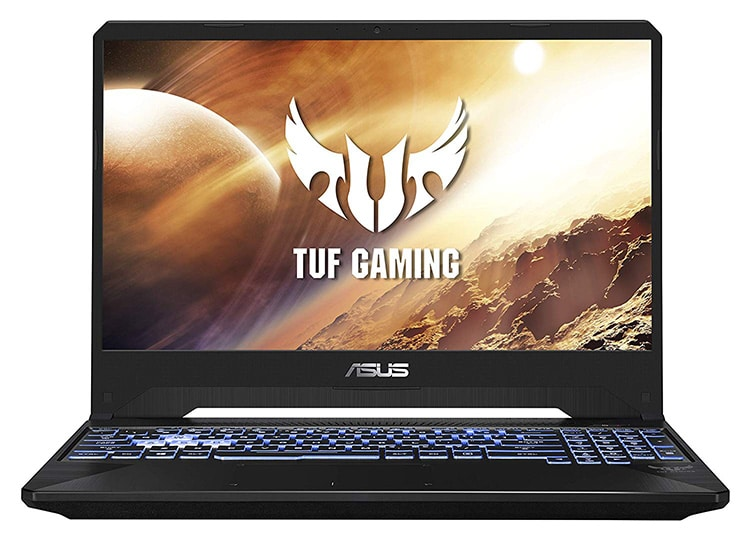 ASUS TUF FX505DT for best budget gaming laptop in India