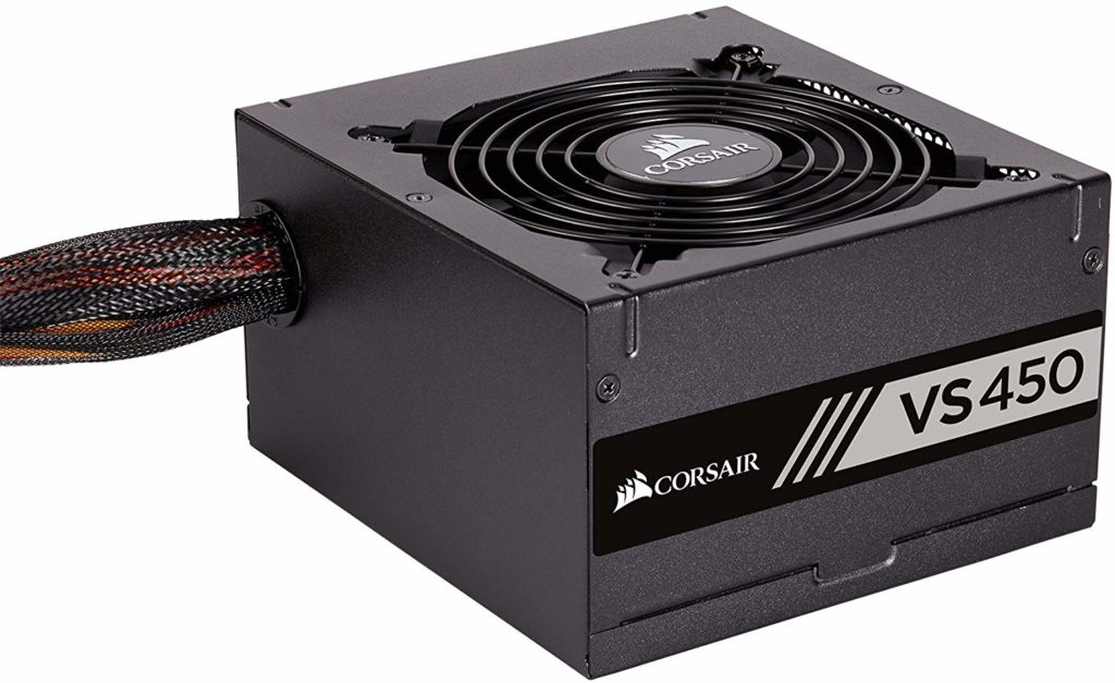 Corsair VS450 for Gaming PC Build Under 40000 INR