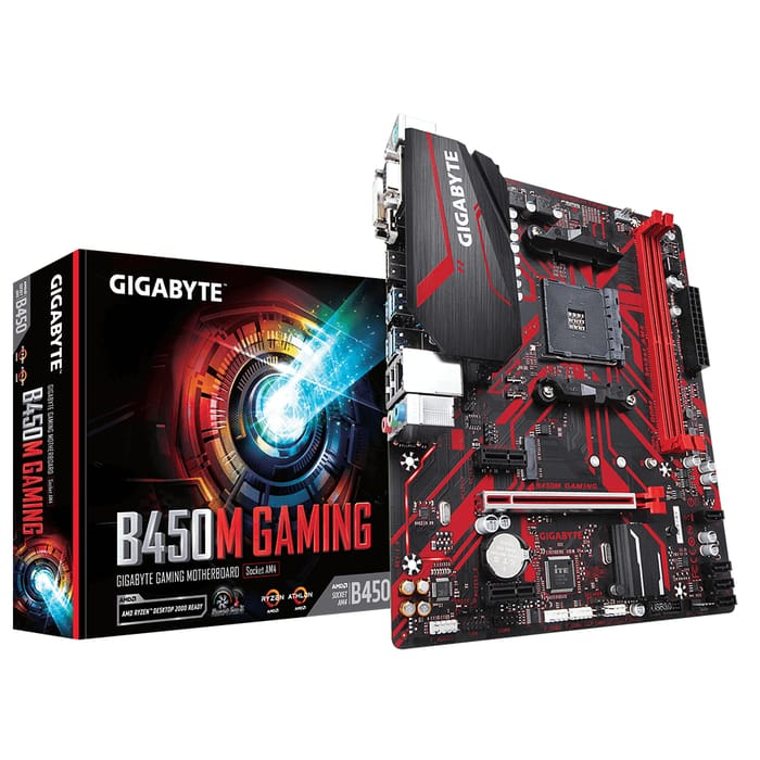 Gugabyte B450M Gaming motherboard for 1 lakh gaming pc build