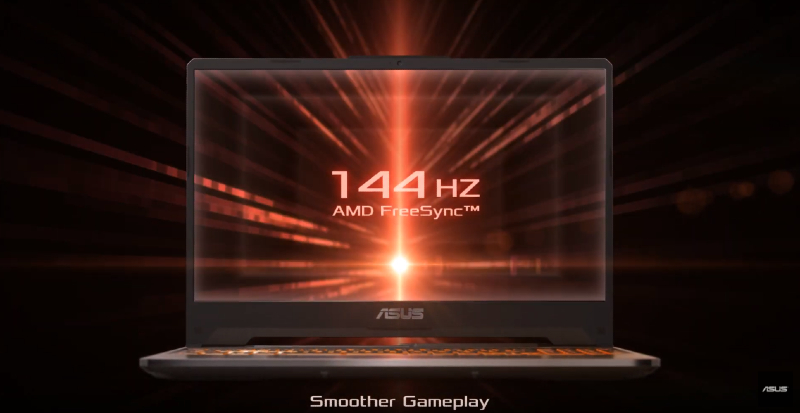 144Hz display on ASUS TUF A15
