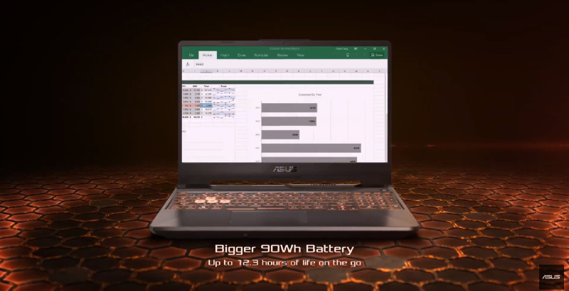 90Wh battery on ASUS TUF A15