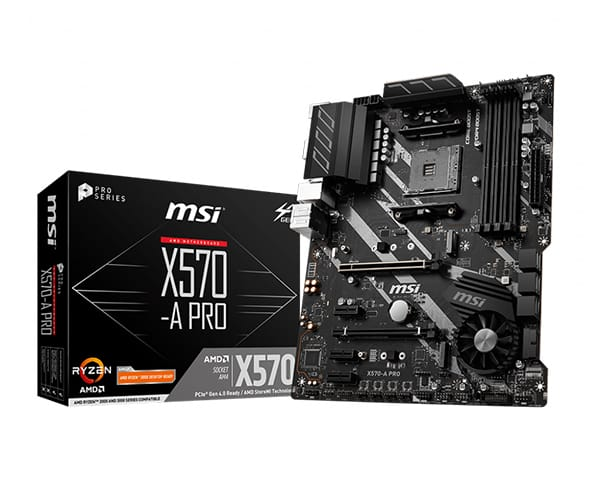 MSI X570-A PRO Motherboard